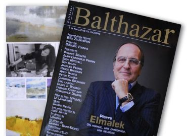 BRYLINSKA à l'honneur dans BALTHAZAR